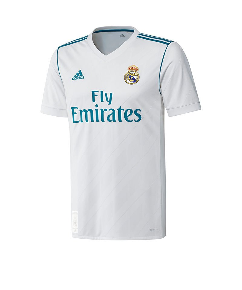 adidas Real Madrid Trikot Home 2017/2018 Weiss - weiss