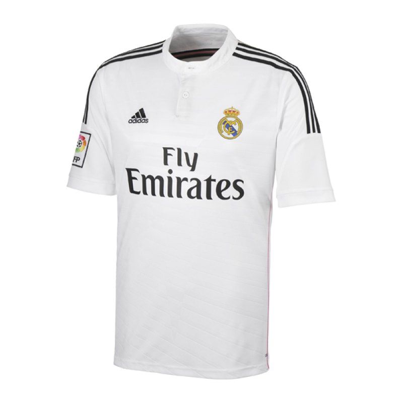 adidas Real Madrid Trikot Home 2014/2015 - weiss