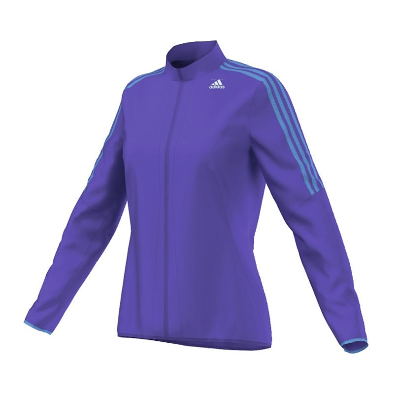 adidas response wind jacket running jacke wmns lila. Black Bedroom Furniture Sets. Home Design Ideas