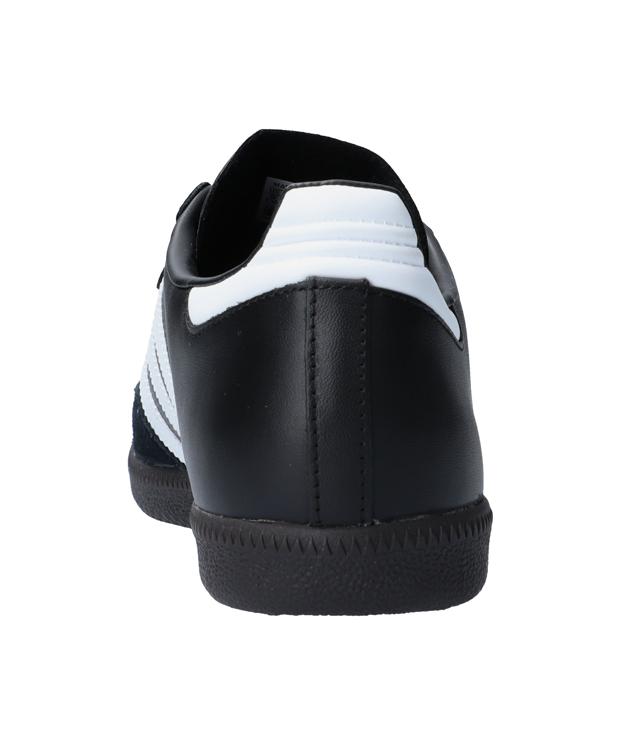 adidas samba hallenschuh leder schwarz weiss. Black Bedroom Furniture Sets. Home Design Ideas
