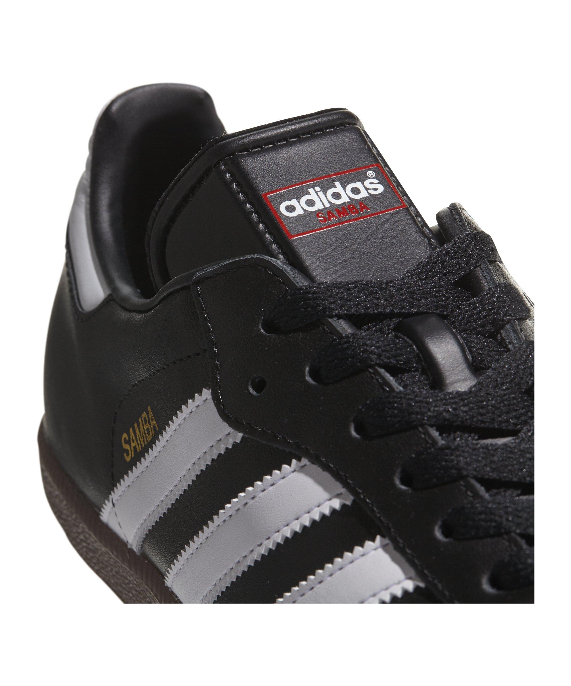 Adidas samba hallenschuh leder schwarz weiss for Kuchenstuhle leder schwarz
