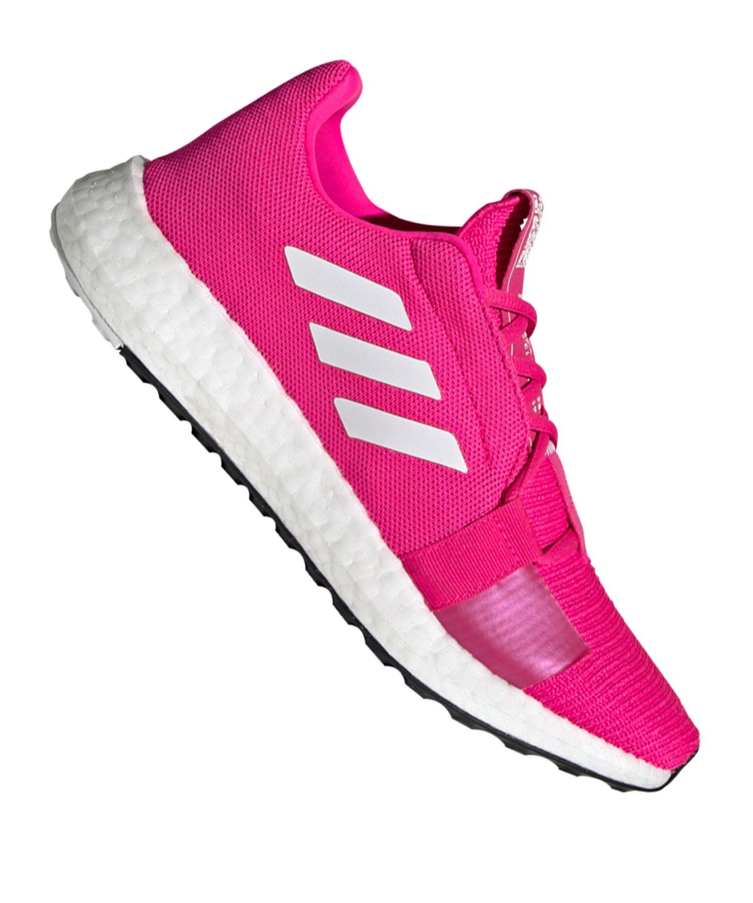 adidas Sense Boost Go Running Damen Pink Weiss