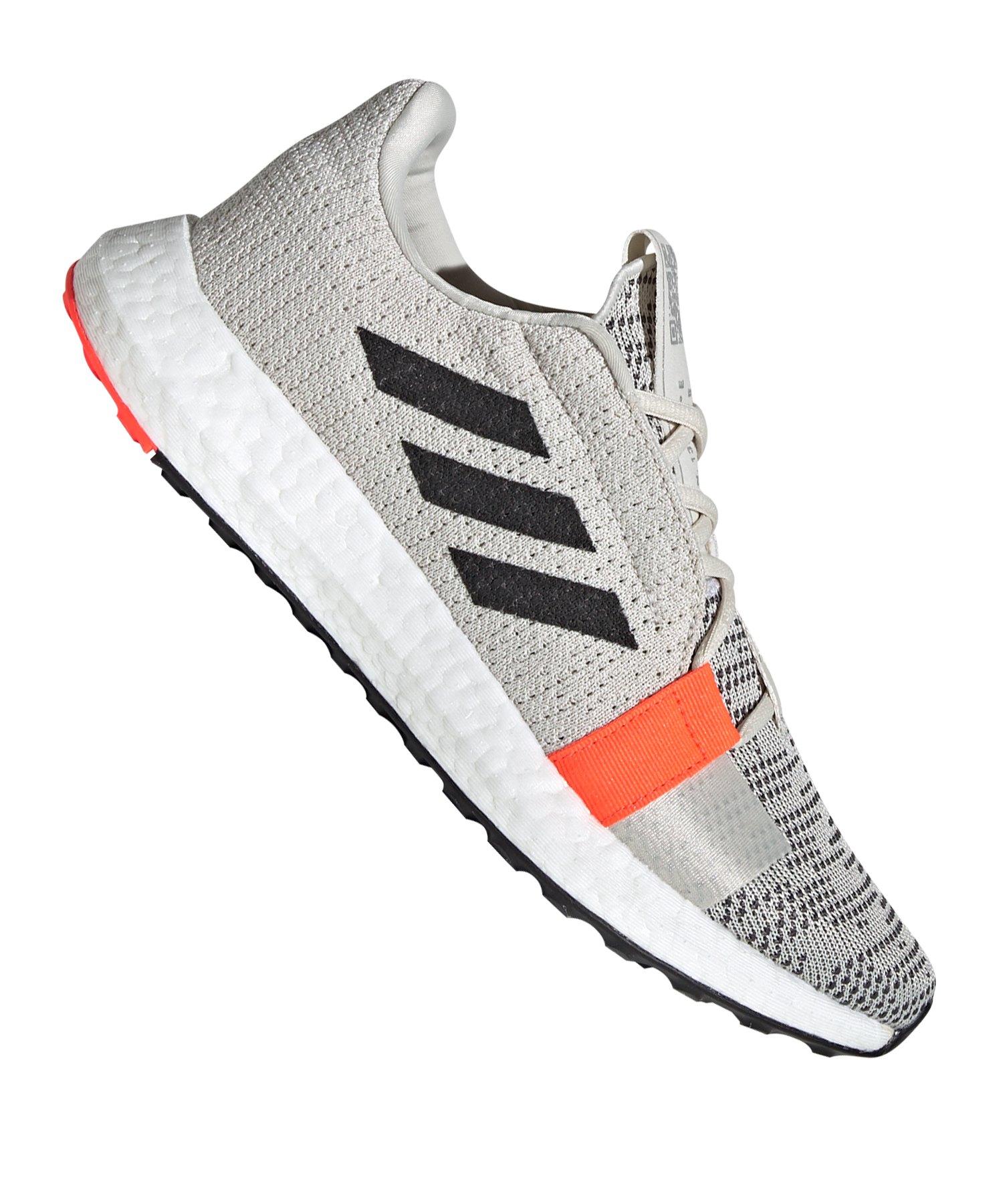 adidas Sense Boost Go Running Damen Weiss Rot