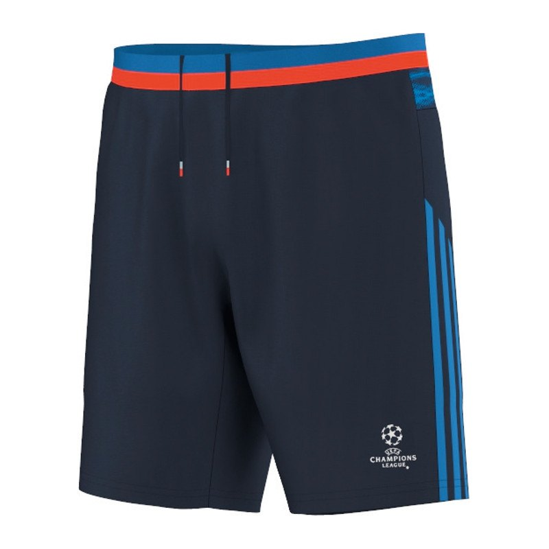 adidas short hose kurz ucl blau trainingsshort. Black Bedroom Furniture Sets. Home Design Ideas
