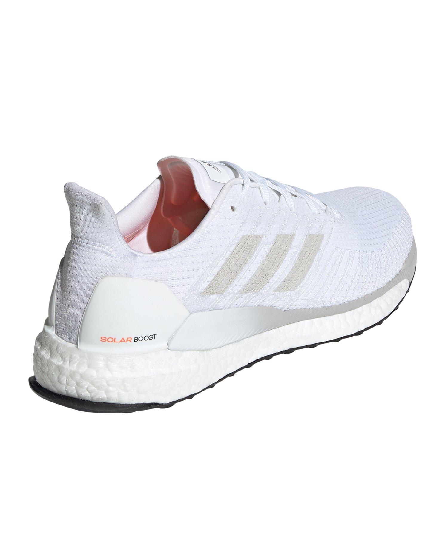 adidas Solar Boost Herren Laufschuhe Runningschuhe grau weiß Joggen CQ3170