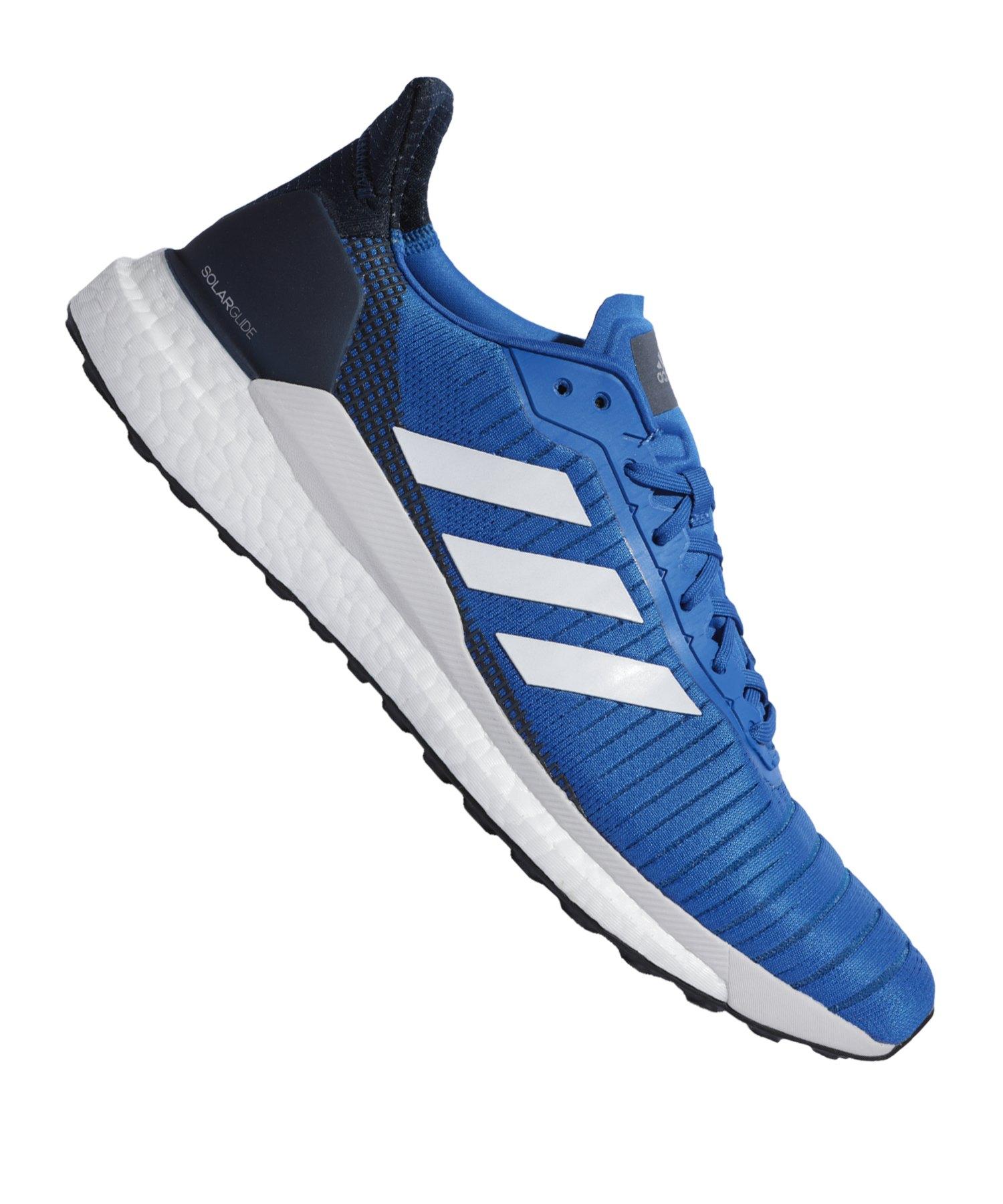 adidas Solar Glide 19 Running Blau Weiss