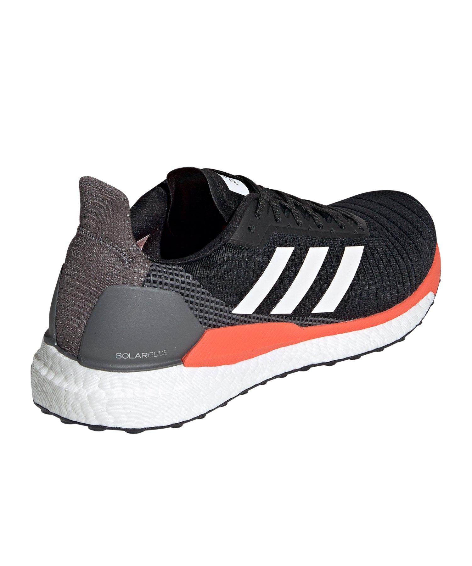 Adidas Glide Solar Running 19 Schwarz Weiss OiPukTwZXl