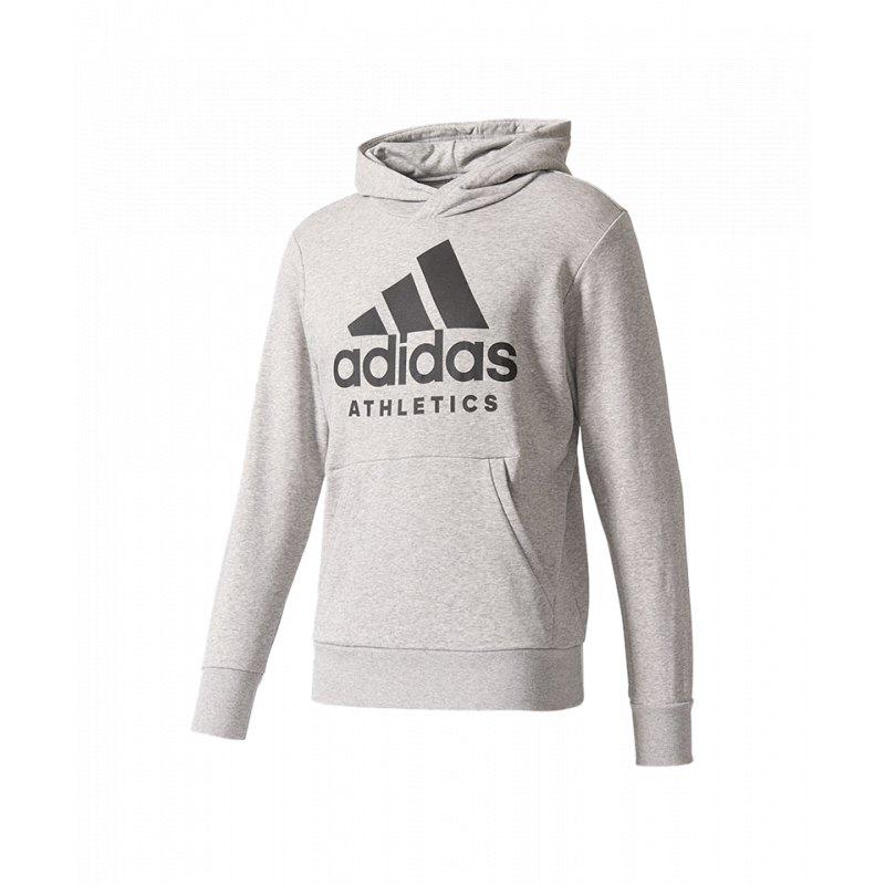 adidas Sport ID Branded Kapuzensweatshirt Grau
