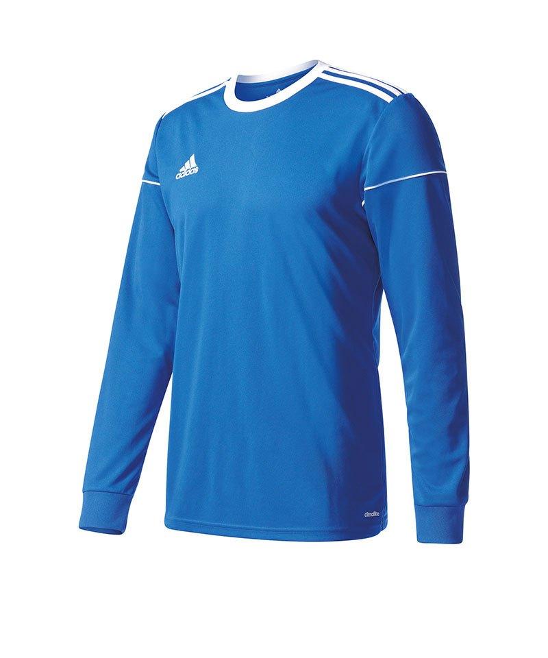 adidas Squadra 17 Trikot langarm Blau Weiss