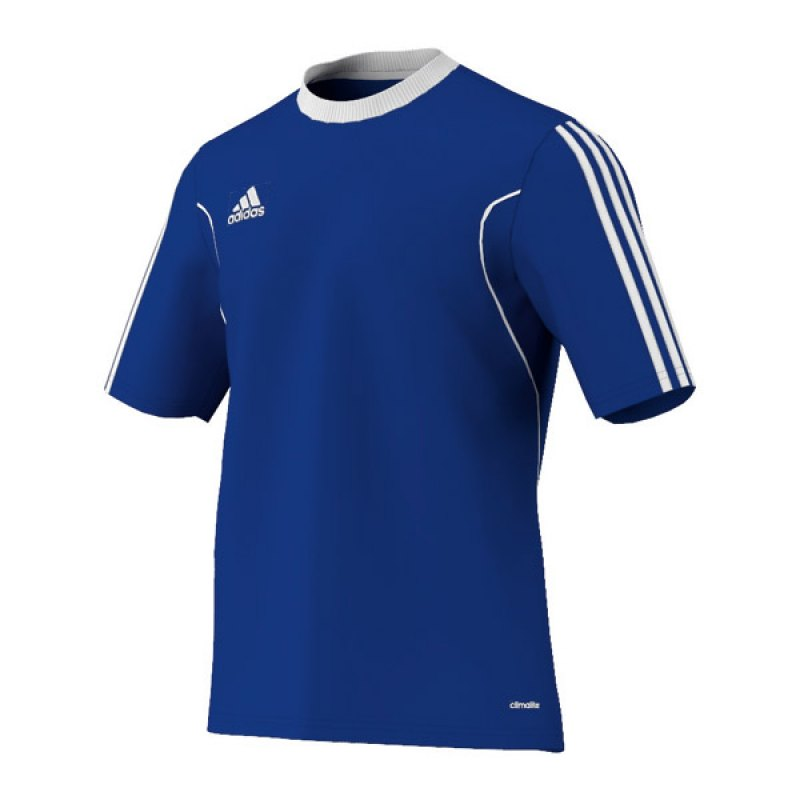 adidas squadra 13 trikot kurzarm blau weiss. Black Bedroom Furniture Sets. Home Design Ideas