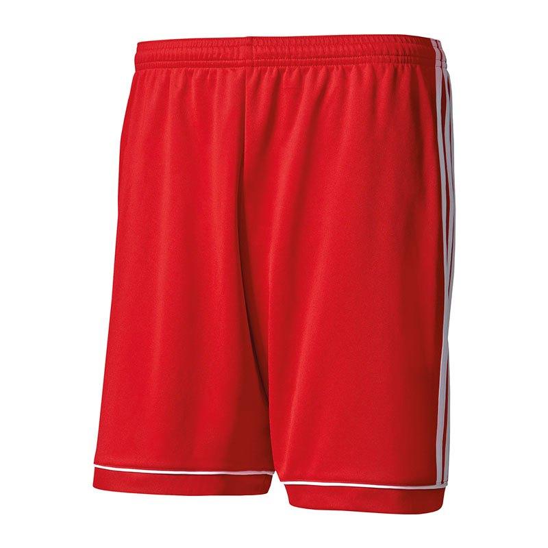 adidas Squadra 17 Short mit Innenslip Kids Rot