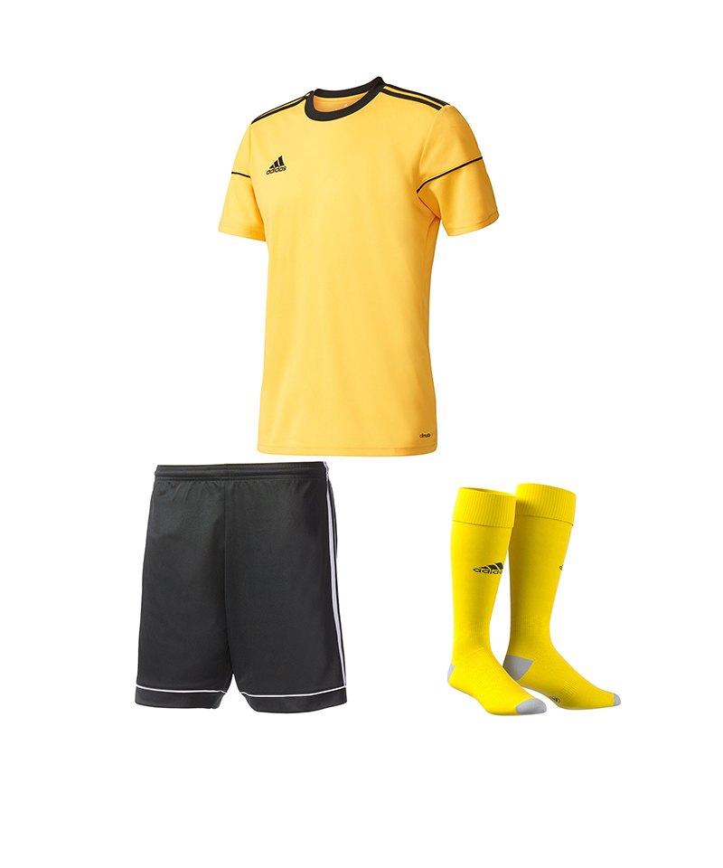 adidas Squadra 17 Trikotset Gelb Schwarz