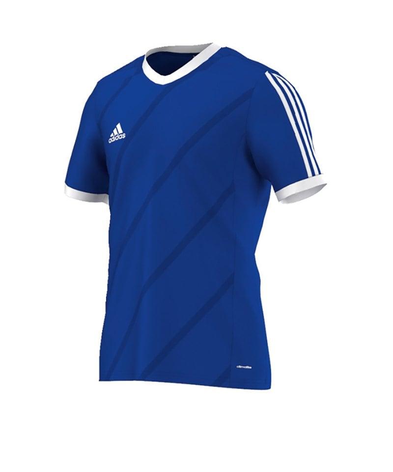 cheap for discount 8cdb5 c96e3 adidas Tabela 14 Trikot kurzarm Blau