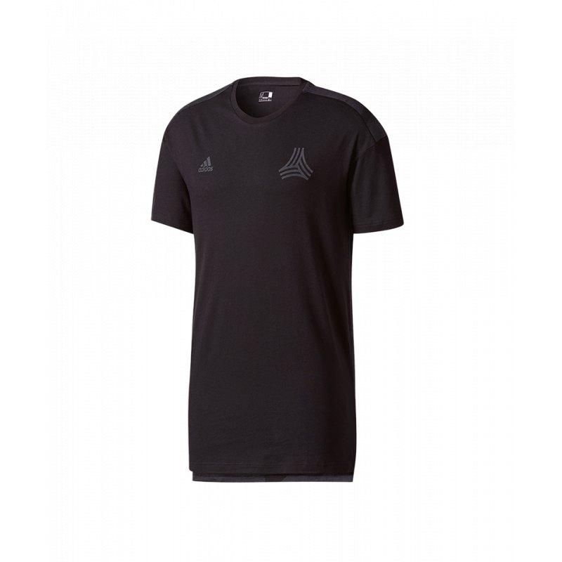 4a7700842fb adidas Tango Cage Long Tee T-Shirt Schwarz - schwarz