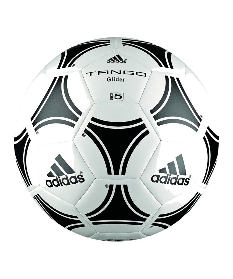 adidas tango glider fussball weiss schwarz fu ball trainingsball equipment. Black Bedroom Furniture Sets. Home Design Ideas