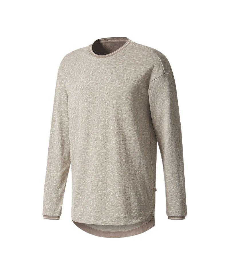 ADIDAS PERFORMANCE Sweatshirt Tango Crew Grau sportlich