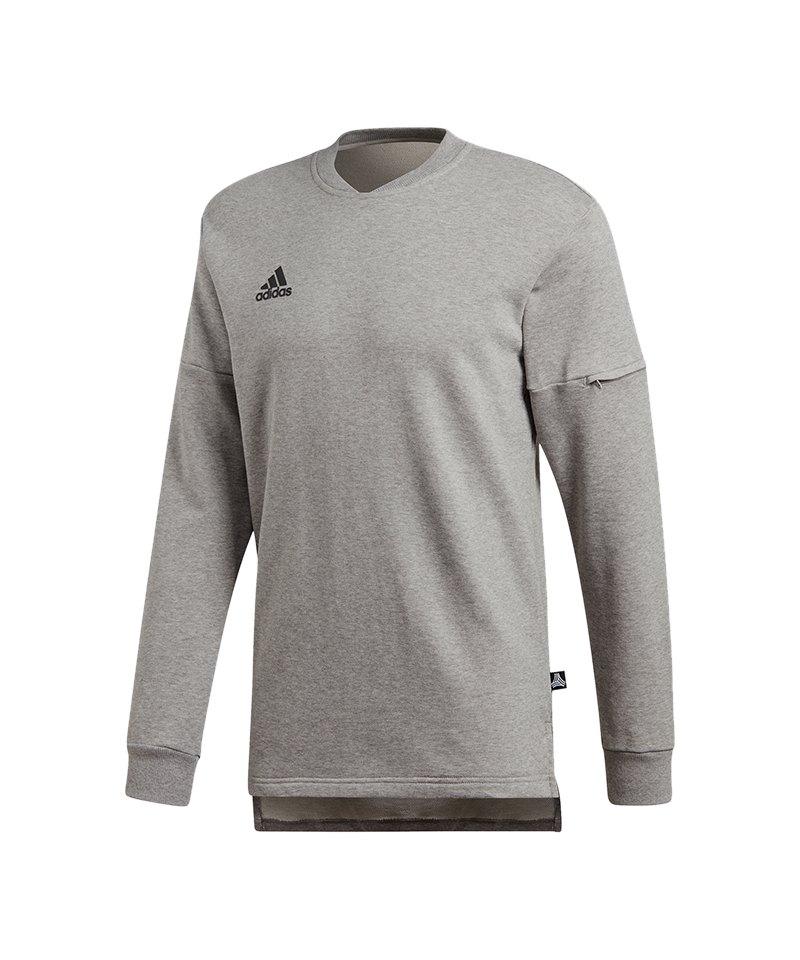 adidas Tango Sweatshirt Grau Schwarz
