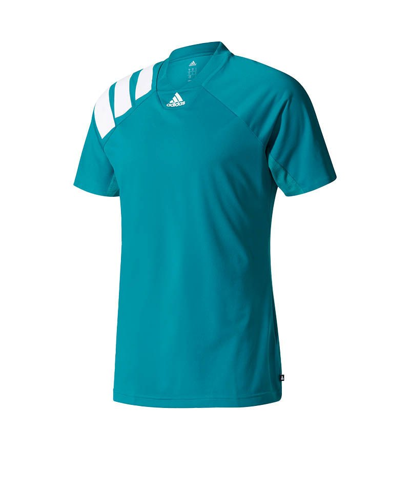 adidas tanis climacool tee t shirt gr n weiss. Black Bedroom Furniture Sets. Home Design Ideas