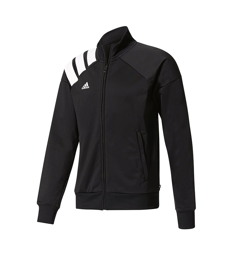 adidas tanis track jacket jacke schwarz weiss running. Black Bedroom Furniture Sets. Home Design Ideas