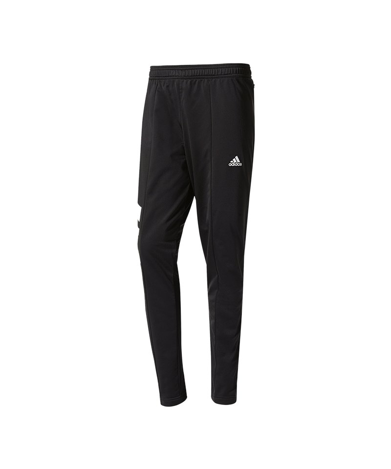 adidas tanis training pant hose lang schwarz weiss. Black Bedroom Furniture Sets. Home Design Ideas