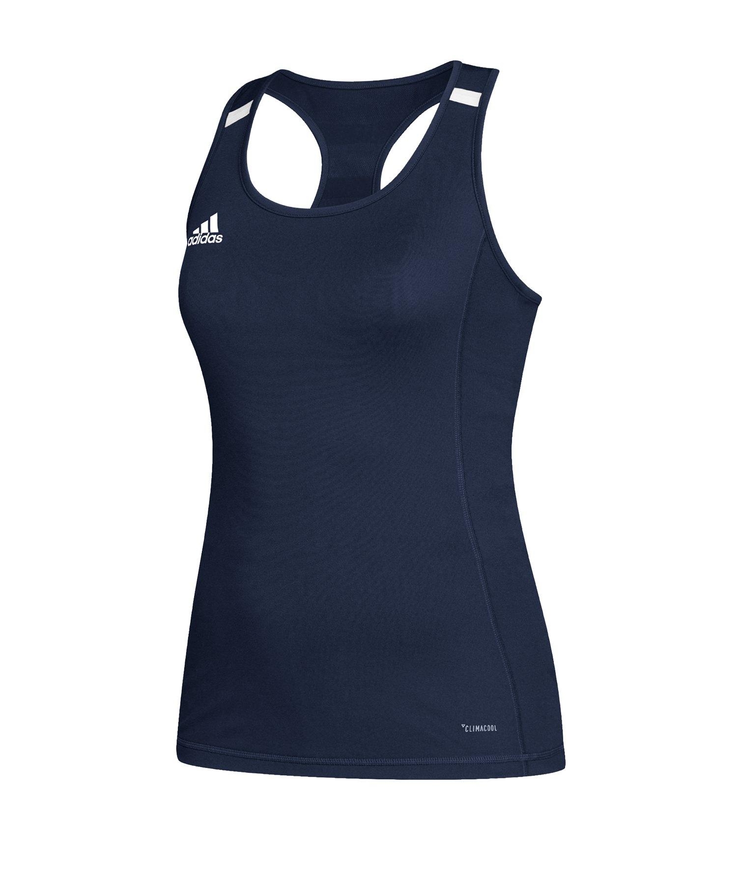 1e847daccc32c3 adidas Team 19 Tank Top Damen Blau Weiss |Teamsportbedarf | Muscle ...