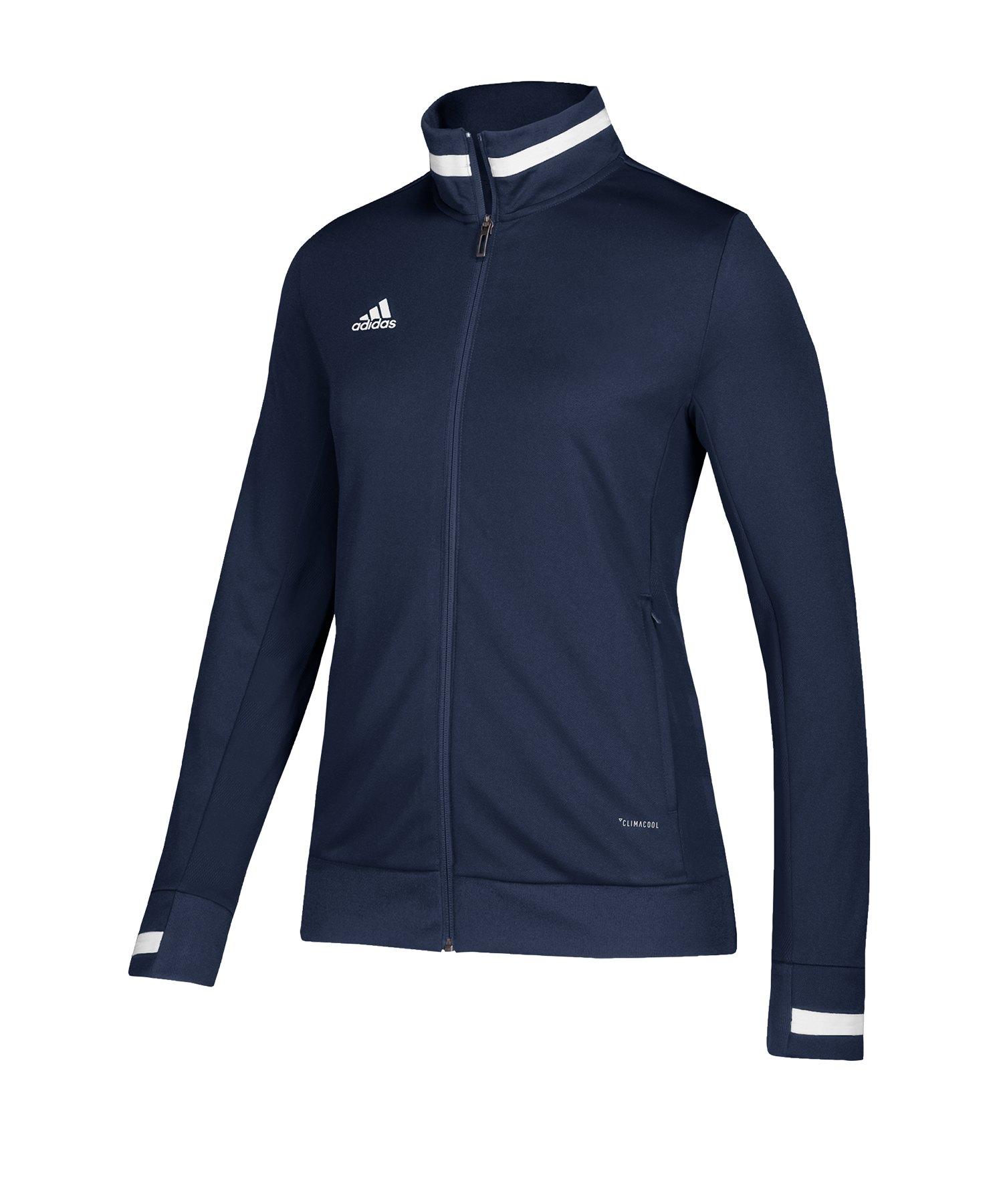 adidas Team 19 Track Jacket Damen Blau Weiss