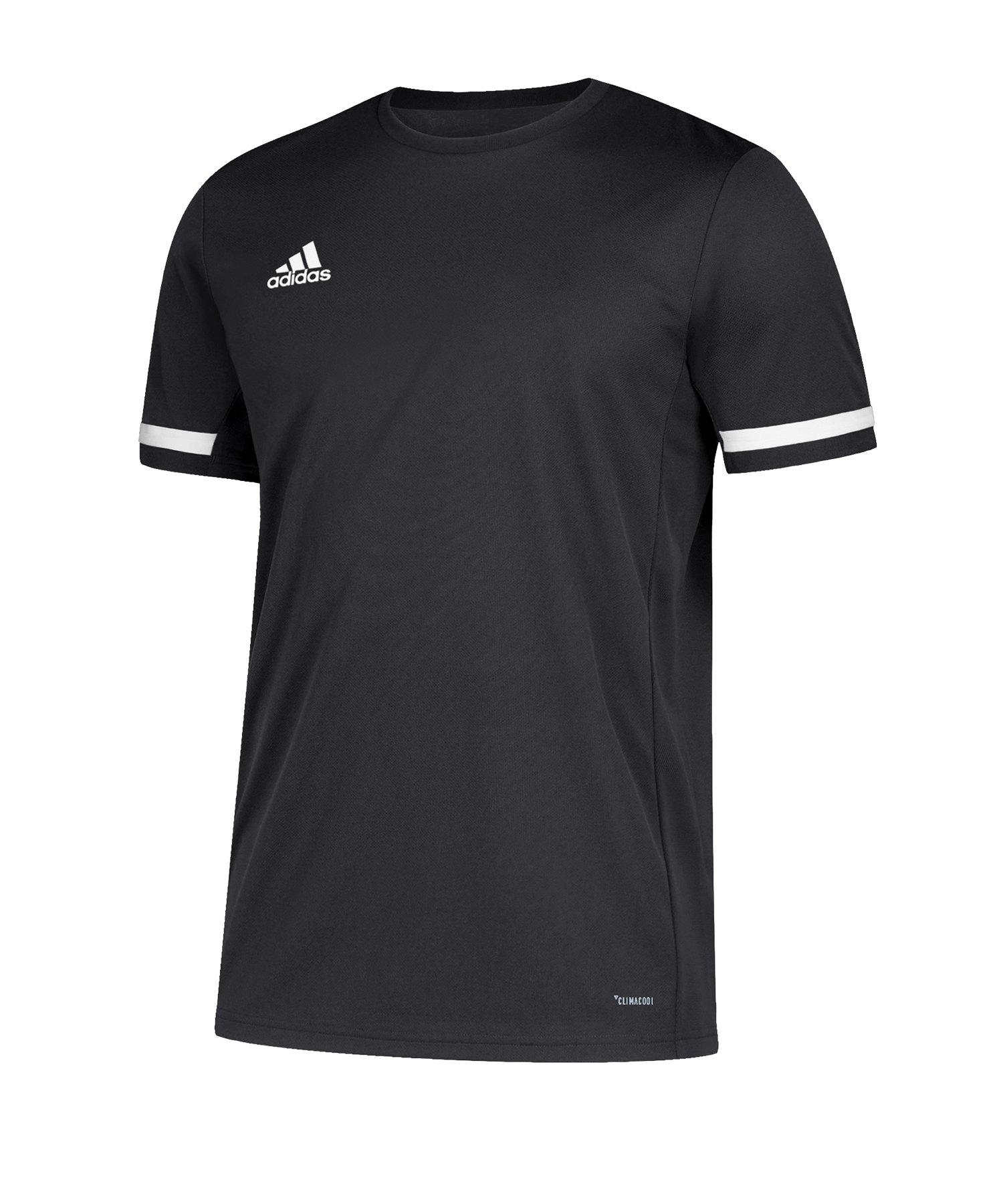 a136a8e80c adidas Team 19 Trikot kurzarm Schwarz Weiss | Teamsport | Textil ...