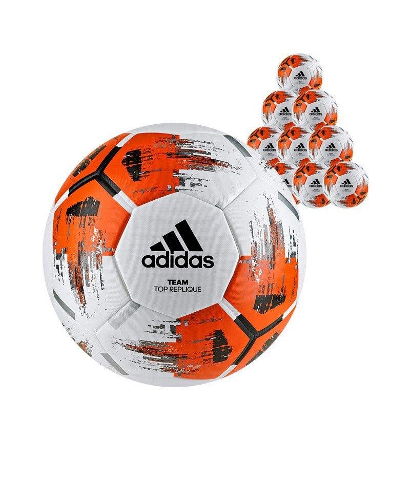 adidas Team Topreplique 20xFußball Weiss Orange - weiss