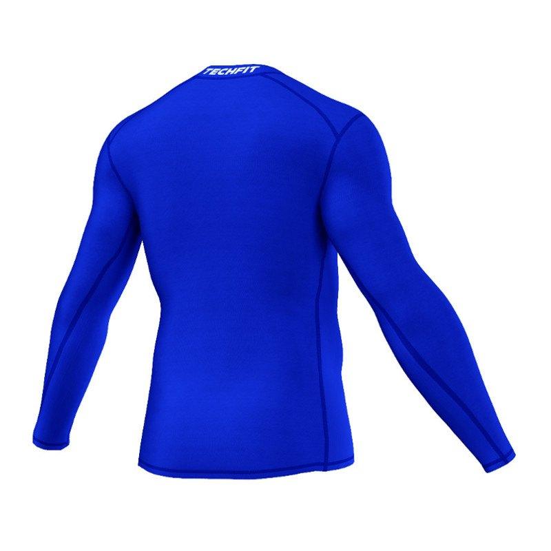 adidas Tech Fit Base Longsleeve Shirt Blau