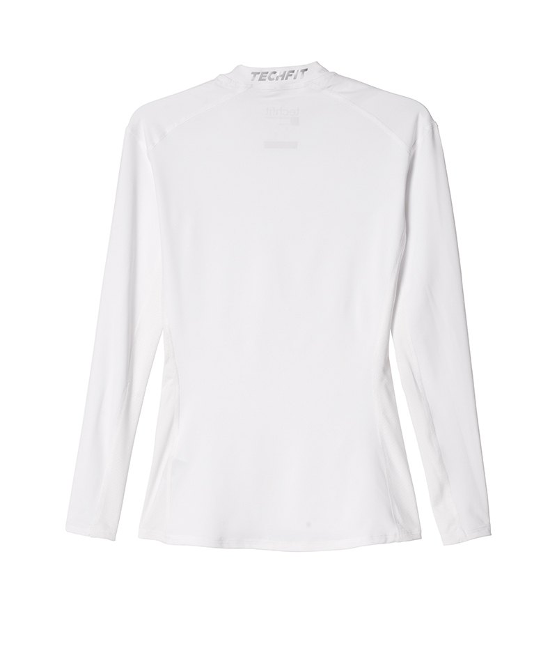 adidas Tech Fit Base Longsleeve Shirt Weiss