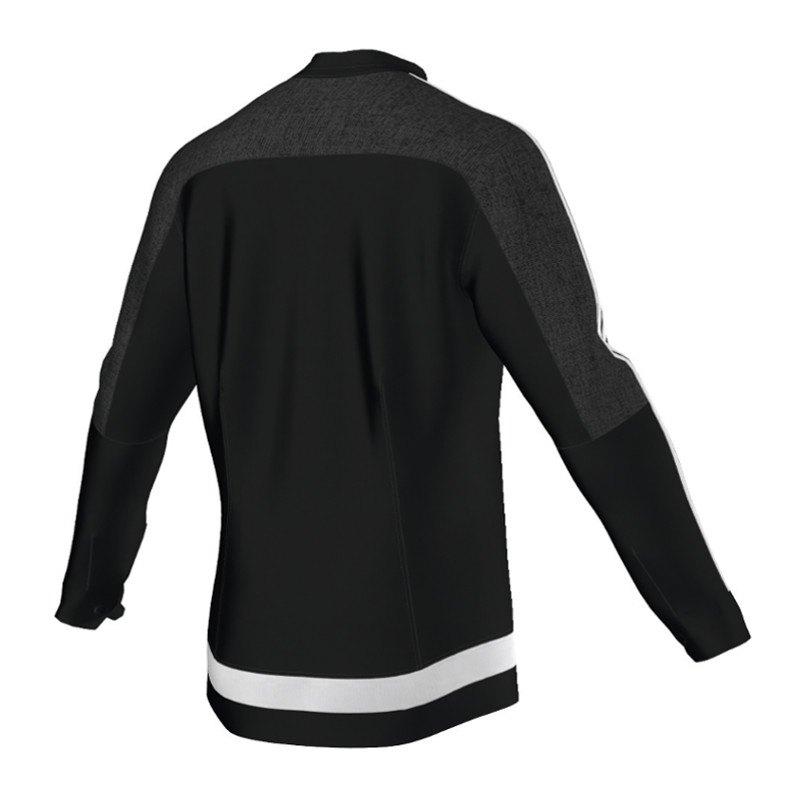 adidas tiro 15 anthem jacket jacke schwarz weiss schwarz. Black Bedroom Furniture Sets. Home Design Ideas