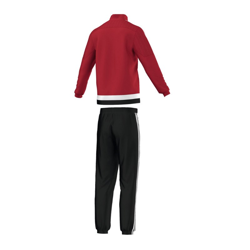 adidas tiro 15 pr sentationsanzug rot schwarz. Black Bedroom Furniture Sets. Home Design Ideas