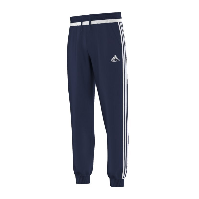 adidas tiro 15 sweatpant jogginghose blau weiss. Black Bedroom Furniture Sets. Home Design Ideas