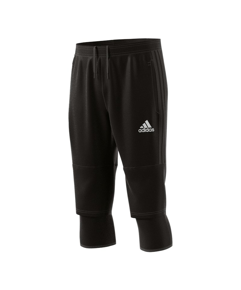 adidas tiro 17 3 4 pant hose kurz schwarz teamsport. Black Bedroom Furniture Sets. Home Design Ideas