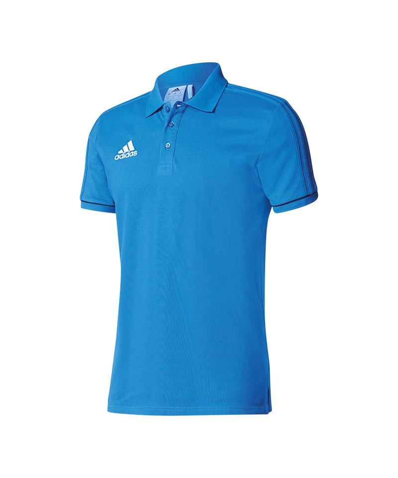 Blau Sport 17 Fussball Poloshirt Tiro Bekleidung Adidas RFtxXOq4