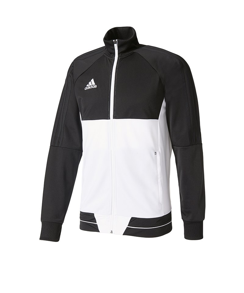 adidas damen jacke rs wind w schwarz weiss m aa5639. Black Bedroom Furniture Sets. Home Design Ideas