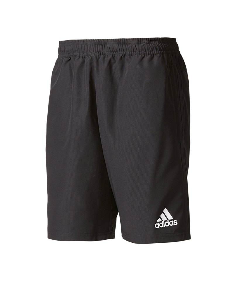 66b1f0f2ec87ce adidas Tiro 17 Woven Short Hose kurz Schwarz Weiss - schwarz