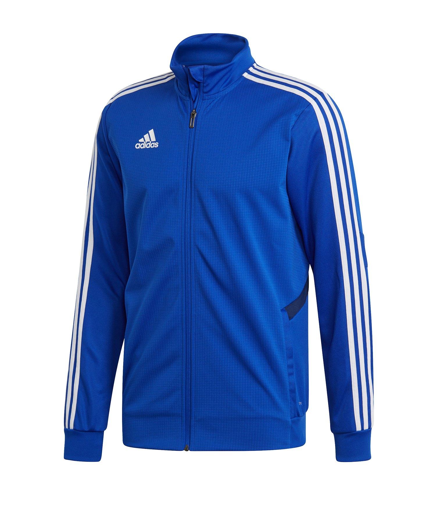 adidas Tiro 19 Trainingsjacke Blau Weiss