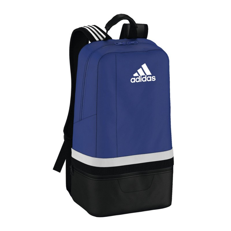 adidas tiro backpack rucksack blau schwarz equipment. Black Bedroom Furniture Sets. Home Design Ideas