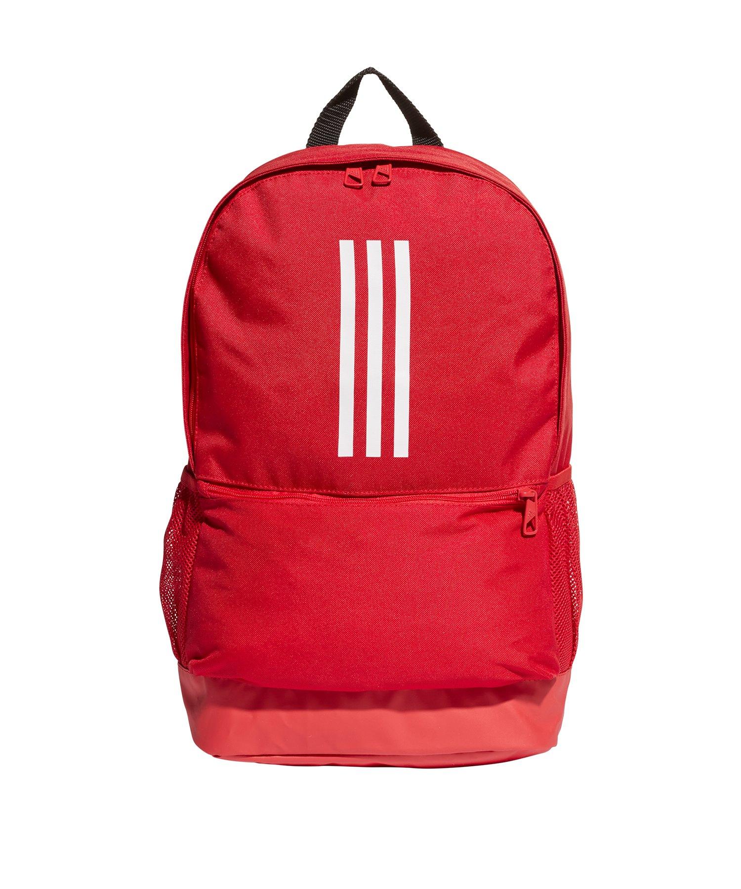 e487919fa89f6 adidas Tiro Backpack Rucksack Rot Weiss - rot