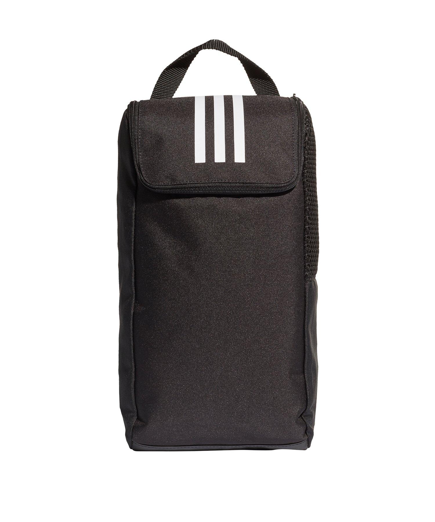 adidas Tiro Shoe Bag Schuhtasche Schwarz Weiss