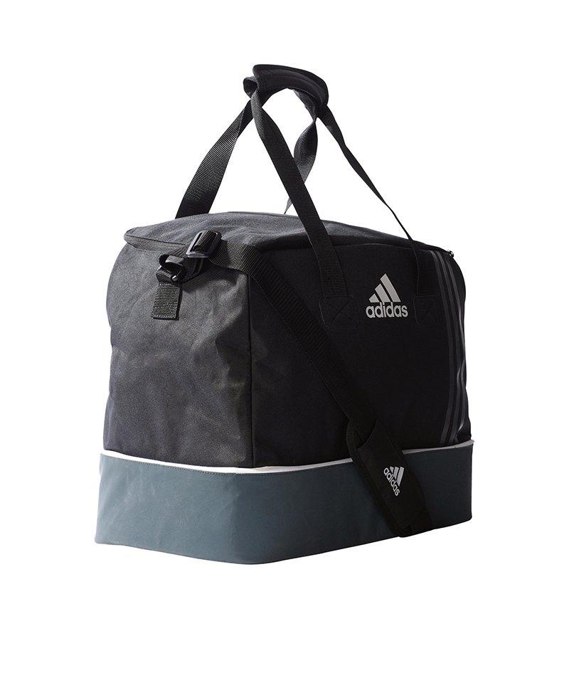 0749b28bfd828 adidas Tiro Teambag Bottom Compart Gr. S Schwarz - schwarz