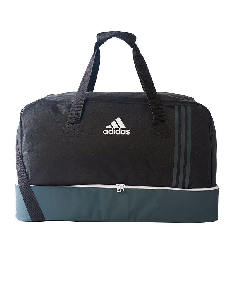 4fb10f13b5a44 adidas Tiro Teambag Bottom Compart Gr. L Schwarz - schwarz