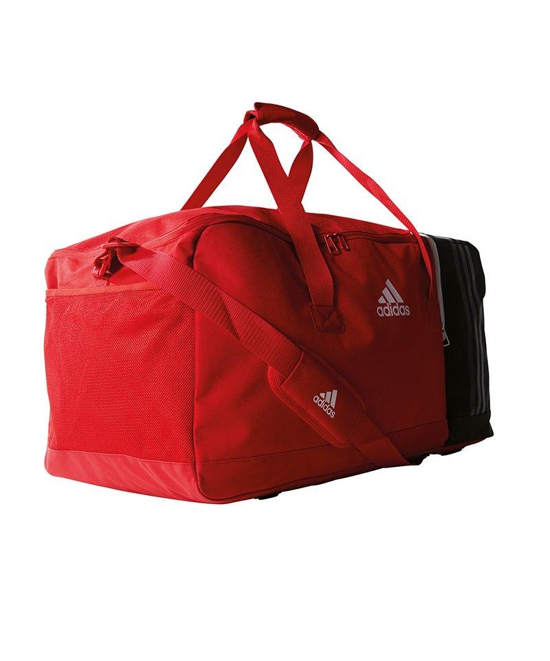 adidas Tiro Teambag Gr. L Rot Schwarz Weiss