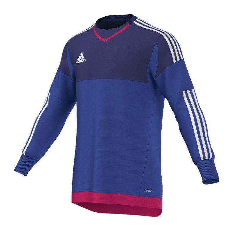 adidas top 15 goalkeeper torwarttrikot blau weiss. Black Bedroom Furniture Sets. Home Design Ideas