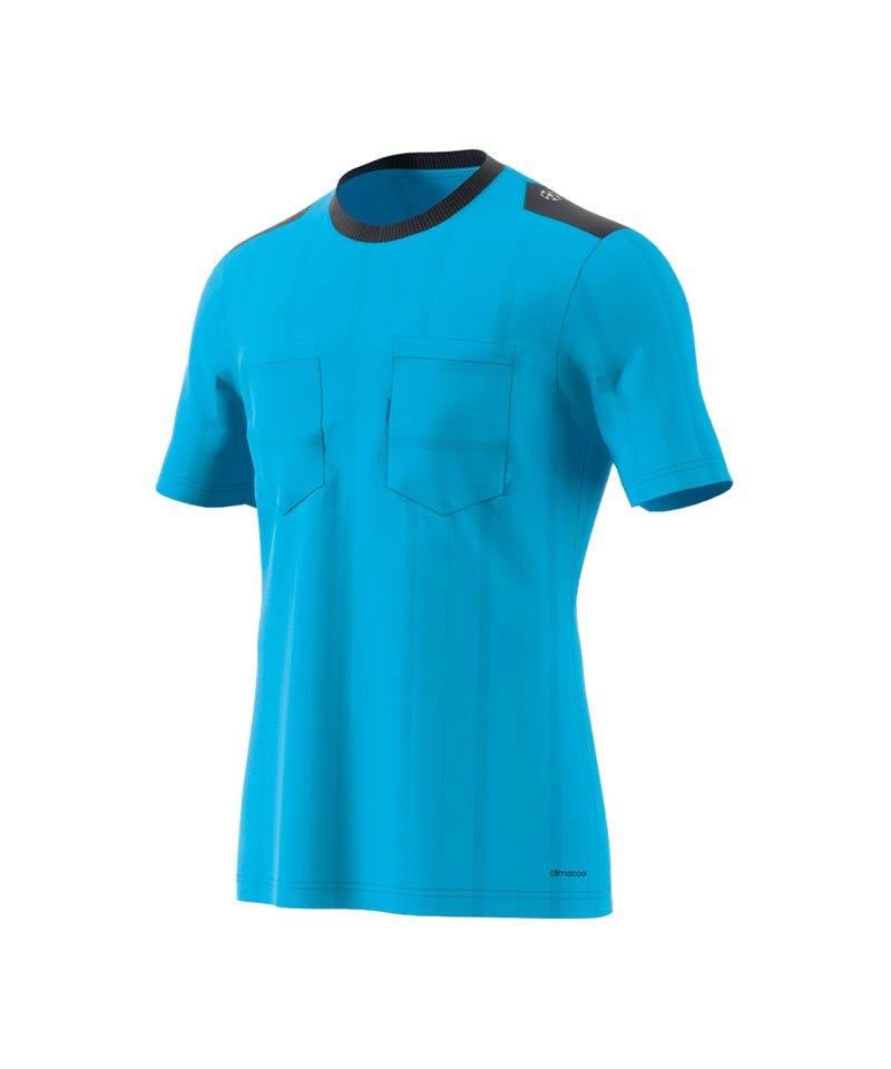 adidas UCL Referee Trikot kurzarm Blau
