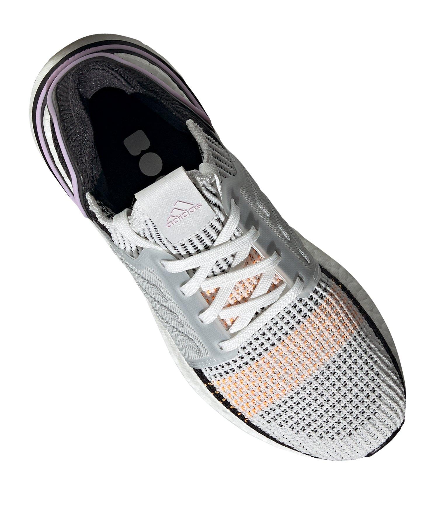 adidas Ultra Boost 19 Running Damen Weiss Schwarz