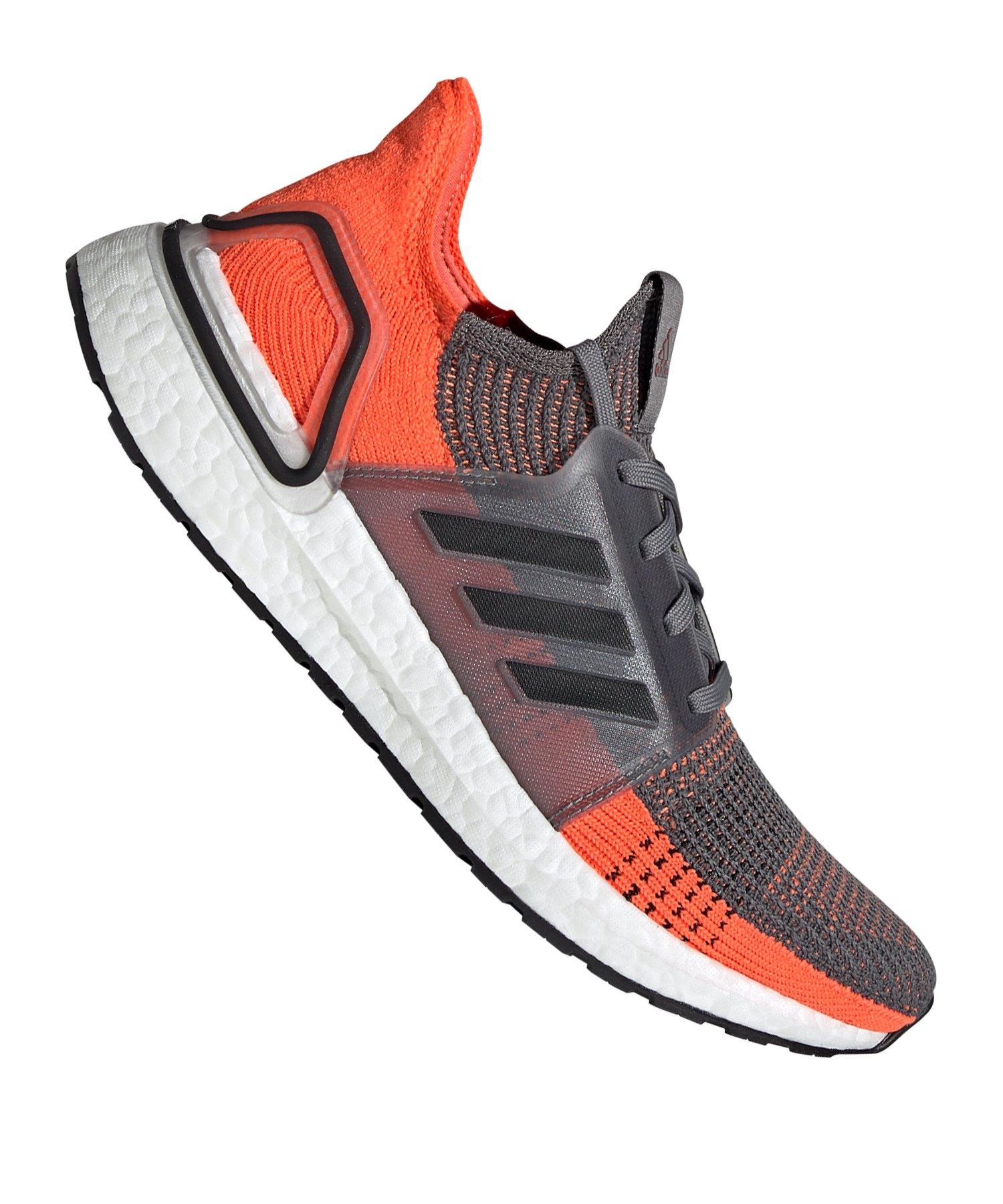 adidas Ultra Boost 19 Running Grau Schwarz