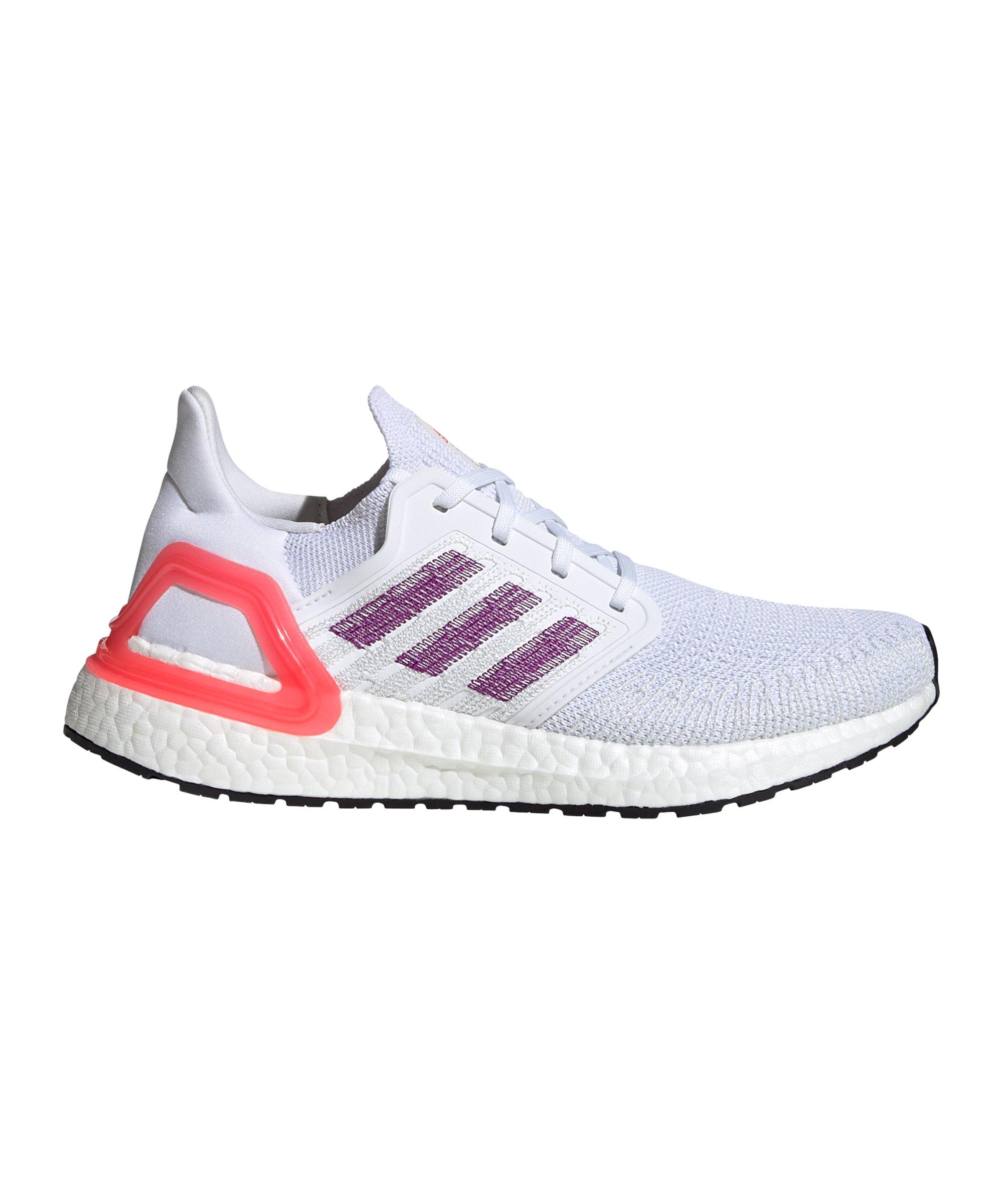 adidas Ultra Boost 20 Running Damen Weiss Pink