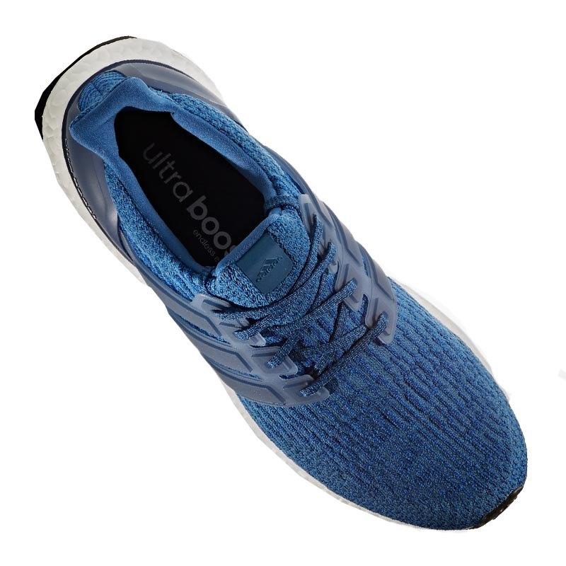 adidas ultra boost running blau weiss laufschuh shoe. Black Bedroom Furniture Sets. Home Design Ideas